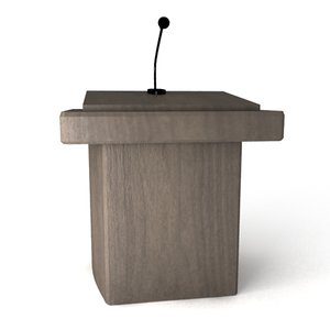 maya lecture stand furniture
