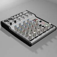 Microphone rack - mixing deck