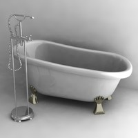 3ds max old bath