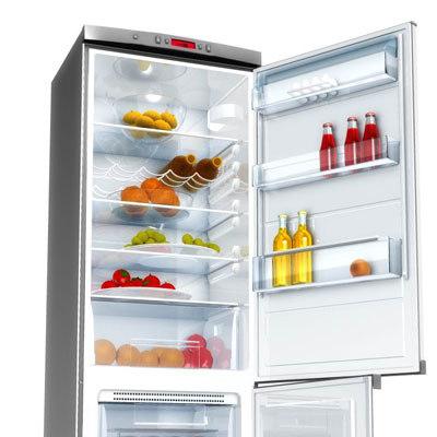 3d zanussi refrigerator model