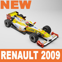 Renault F1 2009 Mental Ray