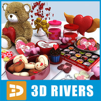 Valentine day collection  by 3DRivers