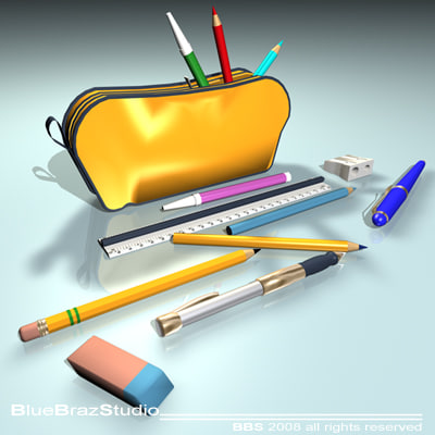3ds max school case