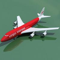 boeing 747 virgin express dwg