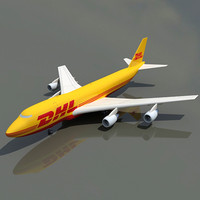 Boeing 747 DHL