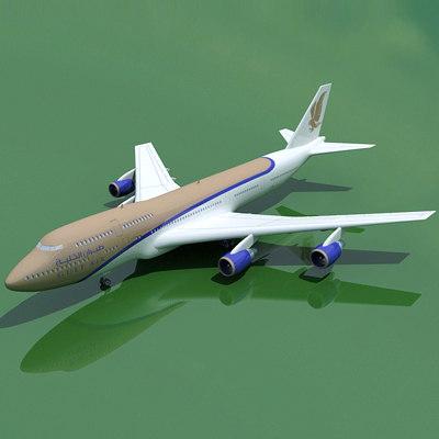 max b 747 gulf