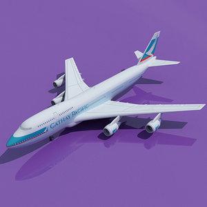 max b 747