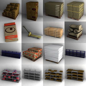 lightwave warehouse objects