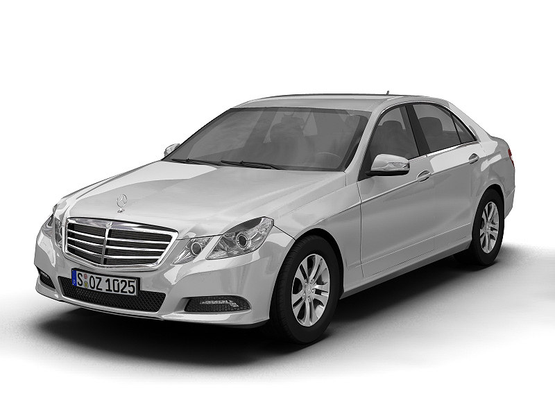 2010 mercedes benz 3d model