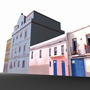 3d cadiz spain cádiz model