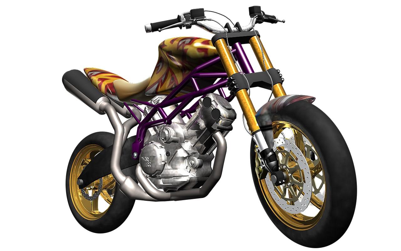 lwo motorbike detailing