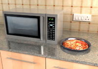 3d model microwave micro wave
