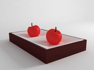 3d model kitchen candels