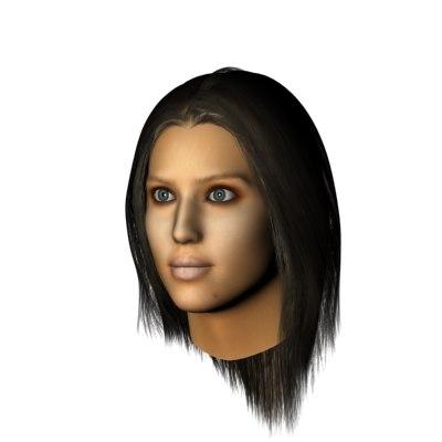 head jessica alba max