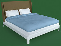 3d bed ikea vista model