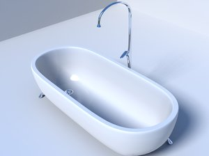 3d model bath lxo