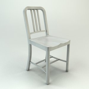 3d model emeco navy chair