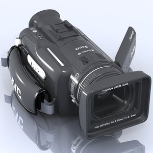 3ds max hd camcorder jvc gz-hd7