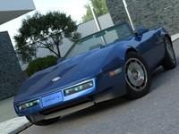 3d model american supercar