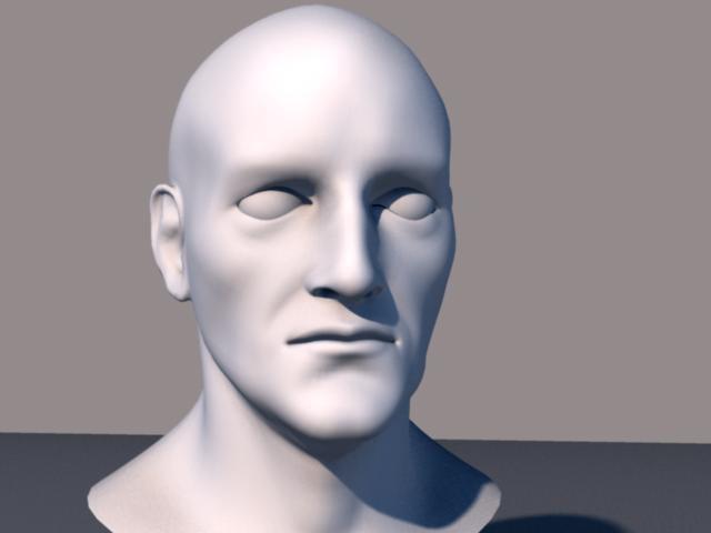 3d model head leonardo da vinci