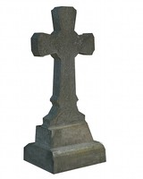 3d cross graveyard