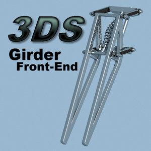 3ds girder suspension