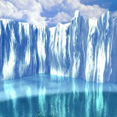 3d model ice
