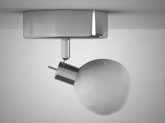 lamp light lampara 3d max