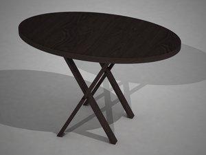 3d kitchen cocina mesa model