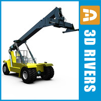 3d model reach stacker