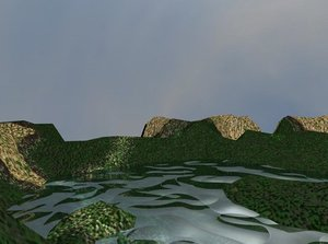 scn scene terrain water withing