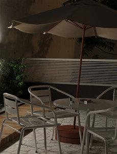 3d umbrella sombrilla