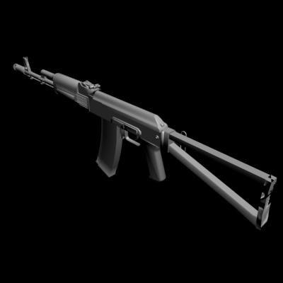 3ds aks-74 modern version
