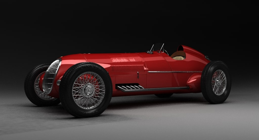 3d vehicle alfa romeo