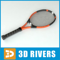 Tennis racket by 3DRivers