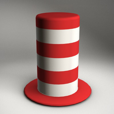 3ds max carnival hat