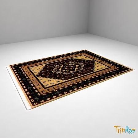 3d rectangle carpet model