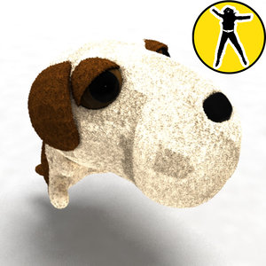 free max model small toy doggy