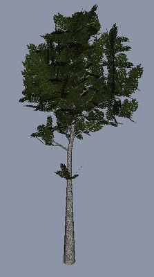 obj middle normal tree 2