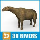 Indricotherium 3D models