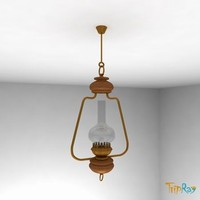 lamp overhead kitchen 3d 3ds