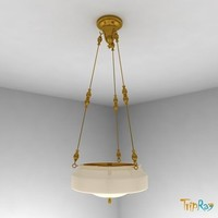 lamp overhead kitchen 3d model