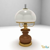 3ds max lamp table