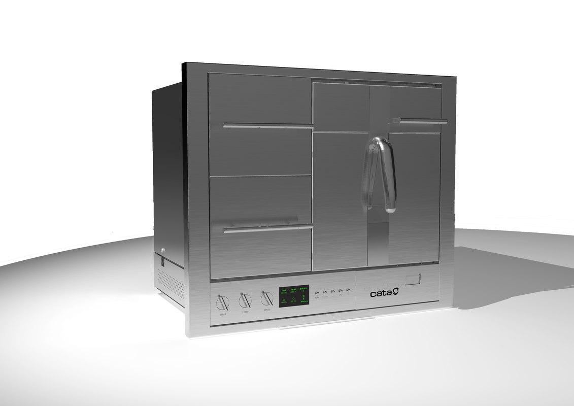 domestic 3d model