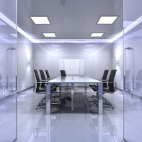 3d model of meeting room