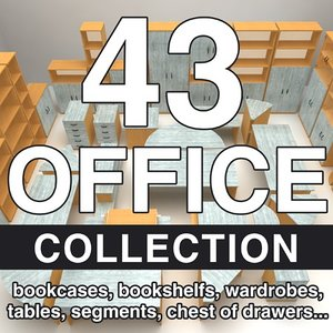 office 43 3d max
