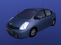 3d model of toyota prius