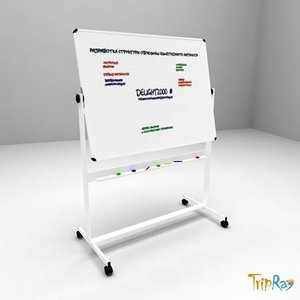 3d presentation board model