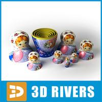 Russian matreshka by 3DRivers