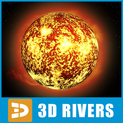 sun star 3d max